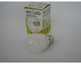 LED lemputė E27 2W 01E27 ELG50SO W