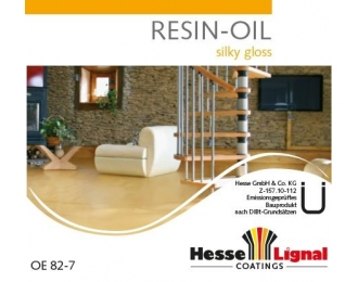 Parketo alyva HESSE RESIN-OIL OE82-4 1 litras