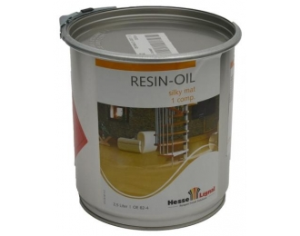 Parketo alyva HESSE RESIN-OIL OE82-4 2.5 litrai