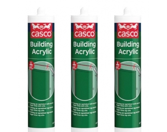 Akrilas CASCO Building acryl baltas 300 ml