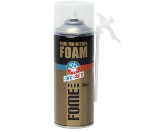 Montavimo putos FOME FLEX Mini mounting foam 230 ml