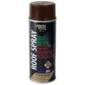 Dažai INRAL ROOF Spray stogo dangai 400ml RAL8017