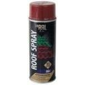 Dažai INRAL ROOF Spray stogo dangai 400ml RAL3011