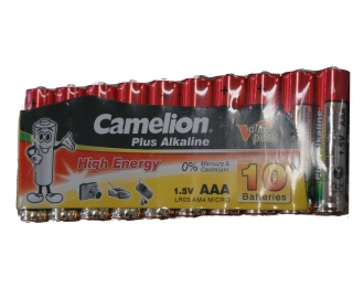 Baterijos CAMELION LR03 AAA SP10 44-052643