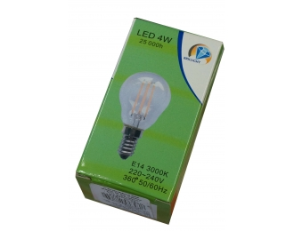 Lemputė LED,brilight 4W E14 2700K