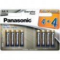 Baterija Panasonic Everyday AA MD1329 6+2  1 pokas