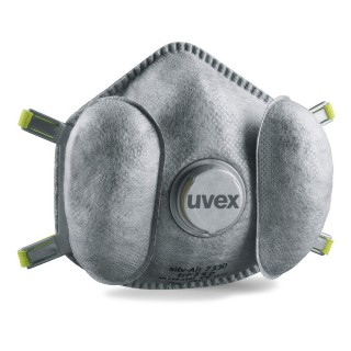 UVEX respiratorius Silv-Air High 7330 FFP3 3vnt