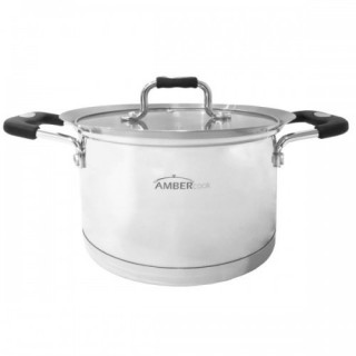 Indukcinis puodas Amber Cook SILICONE KN397062 24cm, 5l