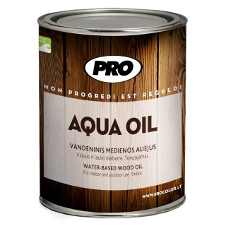 Aliejus medienai AQUA OIL rudas, 0,9 L
