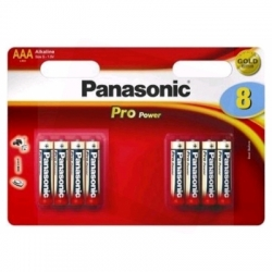 Baterija Panasonic PRO Power AAA LR03 8BP 4+4