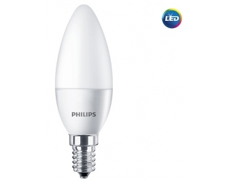 LED lemputė 5.5W E14 Philips 2700K B35