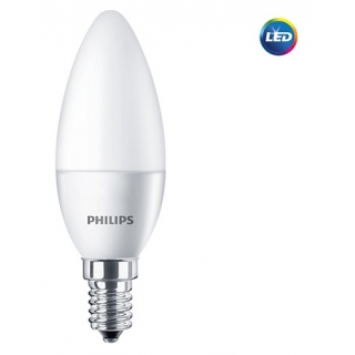LED lemputė 5.5W E14 Philips 4000K B35