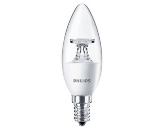 LED lemputė 5.5W/827 B35 E14 CL Philips