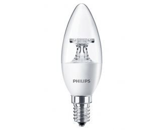 LED lemputė 5.5W/840 B35 E14 CL Philips