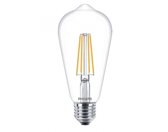 LED lemputė bulb Deco ST64 7.5W E27 Philips