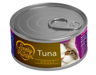 Konservai katėms Lovely Hunter su tunu, 85g