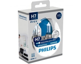 Lempa H7 12V 55W PHILIPS White Xenon effect 4300K
